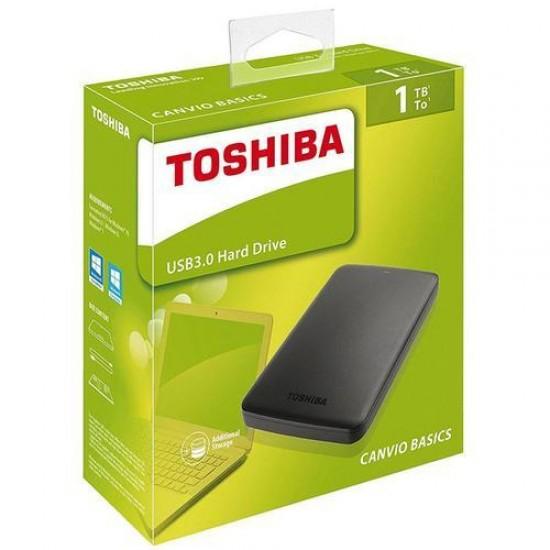 Toshiba 1TB External Hard Drive – USB 3.0