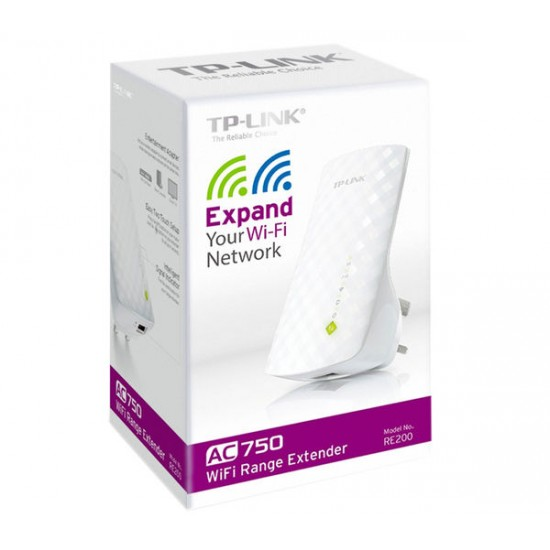 TP-Link AC750 WiFi Range Extender RE200