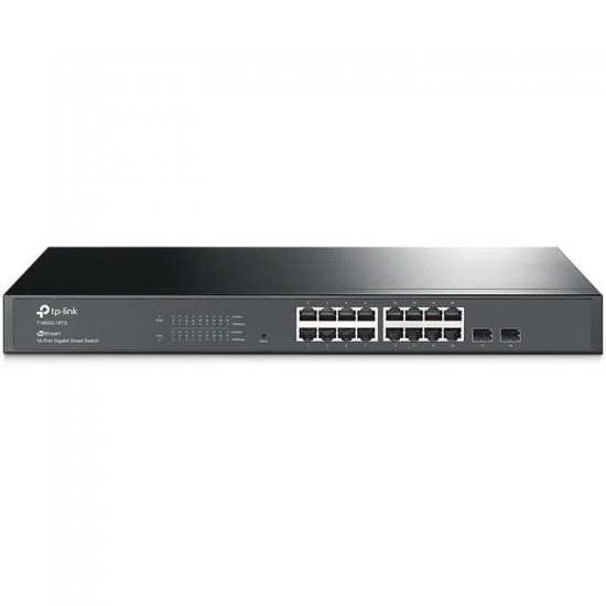 TP-Link T1600-G-18TS JetStream 16-Port Gigabit Managed Smart Switch