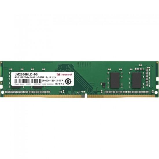 Transcend 4GB DDR4-2666 U-DIMM (JetRam) JM2666HLD-4G Memory Module