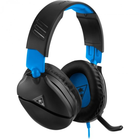 Turtle Beach Recon 70 Gaming Headset for PS5   PS4 | Wired | Black Blue