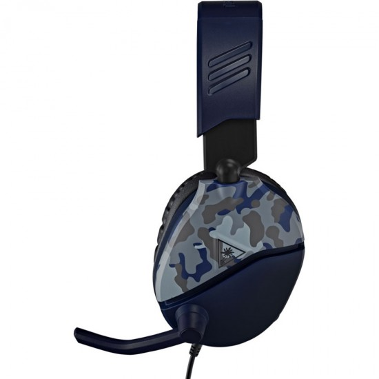Turtle Beach Recon 70 Gaming Headset | Wired | Blue Camo | Multiplatform