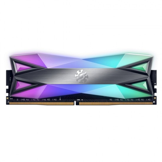 XPG SPECTRIX D60G 8GB DDR4 3000MHz RGB Desktop Memory Module, AX4U300038G16A-ST60